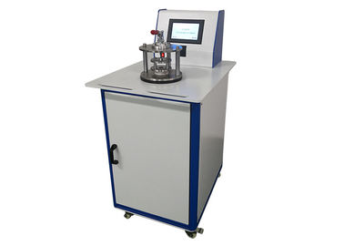 One Time Face Mask Air Permeability Testing Equipment Touch Screen Control  ASTM Standard